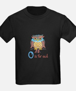O IS FOR OWL T-Shirt