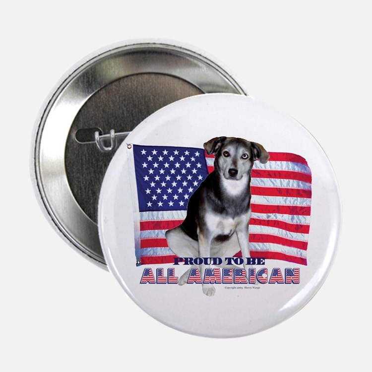 Proud All American Button