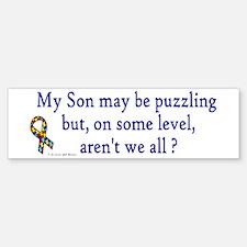 Puzzling (Son) Bumper Bumper Bumper Sticker