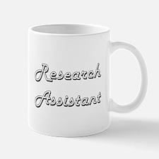 Research Assistant Classic Job Design Mugs