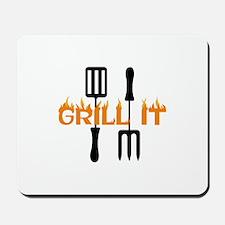 GRILL IT Mousepad