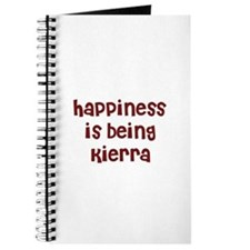 happiness is being Kierra Journal