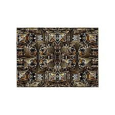 Tribal Abstract 5'x7'Area Rug