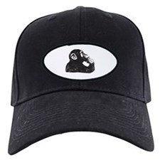 Thoughtful Monkey  Baseball Hat