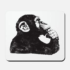 Thoughtful Monkey  Mousepad