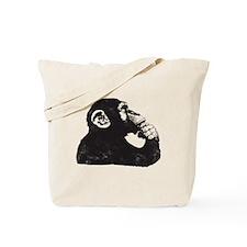 Thoughtful Monkey  Tote Bag