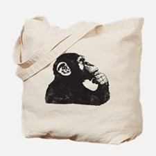 Thoughtful Monkey  Tote Bag