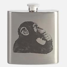 Thoughtful Monkey  Flask