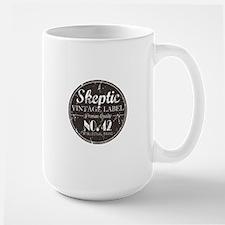 Skeptic Label Mug