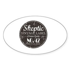 Skeptic Label Decal