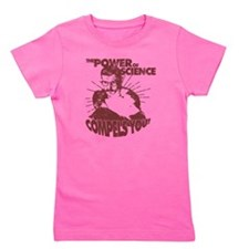 The Power Science Compels You! - Red Girl's Tee