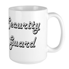 Security Guard Classic Job Design Mugs