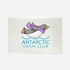 ANTARCTIC SWIM CLUB Magnets