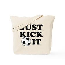 Just Kick It Tote Bag