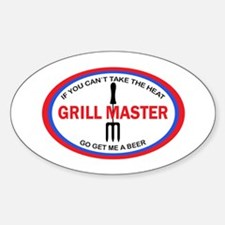 GRILL MASTER Decal