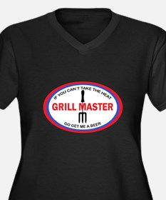 GRILL MASTER Plus Size T-Shirt