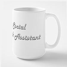 Social Work Assistant Classic Job Design Mugs