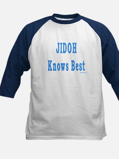 JIDOH Knows Best Kids Baseball Jersey