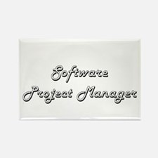 Software Project Manager Classic Job Desig Magnets