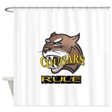 COUGARS RULE Shower Curtain