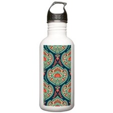 Ornate Paisley Pattern Water Bottle