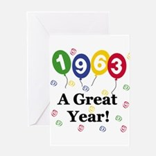 1963 A Great Year Greeting Card
