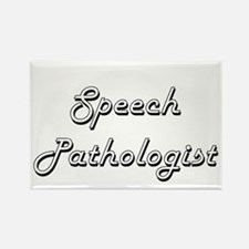 Speech Pathologist Classic Job Design Magnets