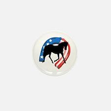AMERICAN HORSE SHOE Mini Button (10 pack)