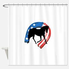 AMERICAN HORSE SHOE Shower Curtain
