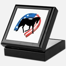 AMERICAN HORSE SHOE Keepsake Box