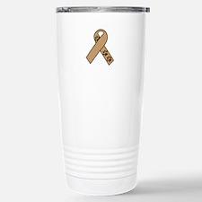 PET NAME DROP RIBBON Travel Mug