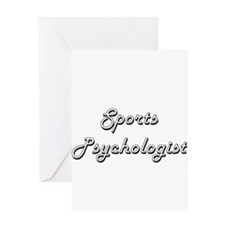 Sports Psychologist Classic Job Des Greeting Cards