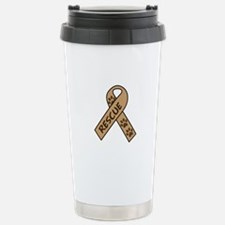 PET RESCUE RIBBON Travel Mug