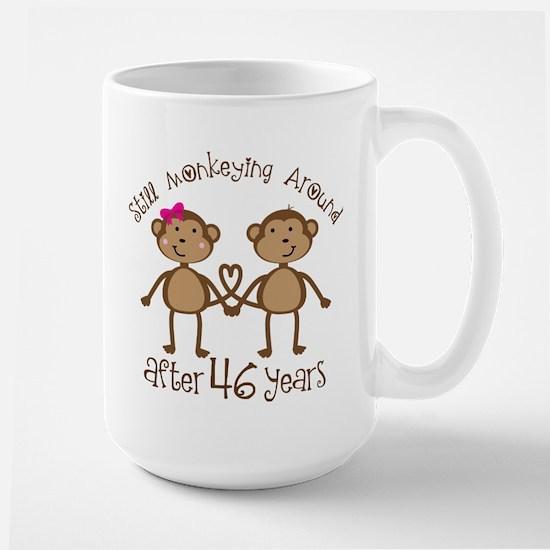 46th Anniversary Love Monkeys Mugs