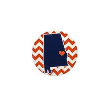 Cute Auburn Mini Button
