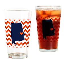 Unique Auburn Drinking Glass