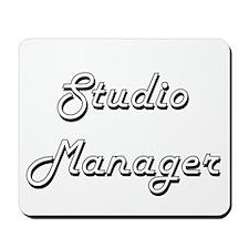Studio Manager Classic Job Design Mousepad
