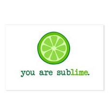 You are Sublime Postcards (Package of 8)