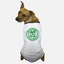 Canadian Irish Drinking Team Dog T-Shirt