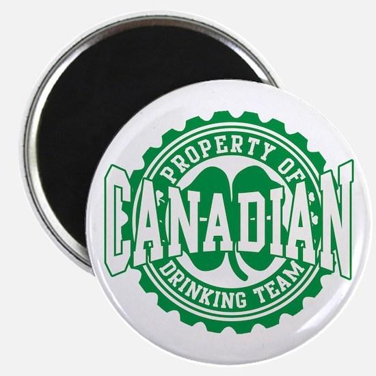 Canadian Irish Drinking Team Magnet