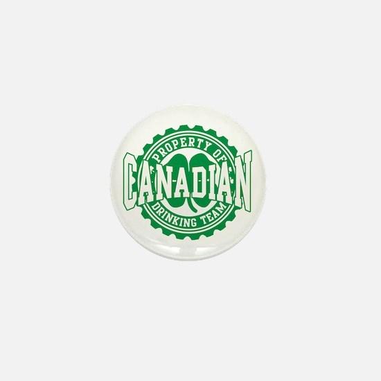 Canadian Irish Drinking Team Mini Button