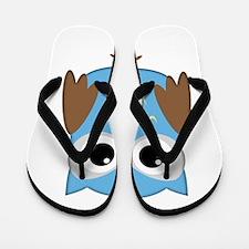blue owl png.png Flip Flops
