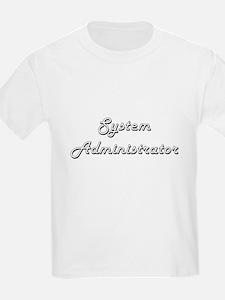 System Administrator Classic Job Design T-Shirt
