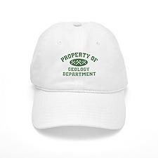 Property Of Geology Department Baseball Baseball Cap