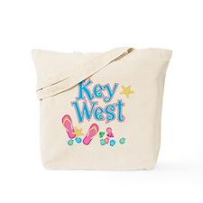 Key West Flip Flops - Tote or Beach Bag