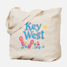 Key West Flip Flops - Tote or Beach Bag