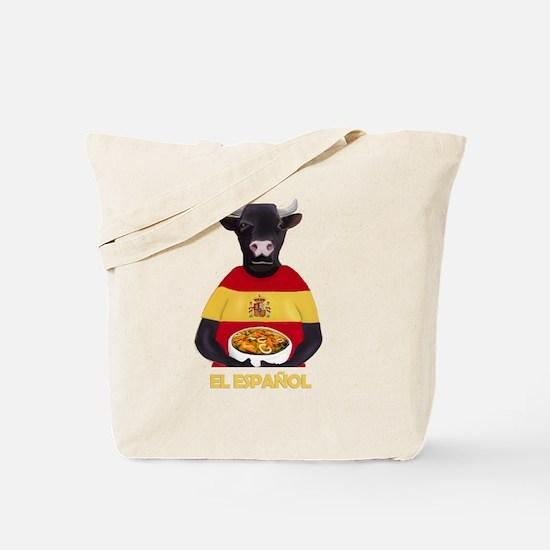 Cute Paella Tote Bag