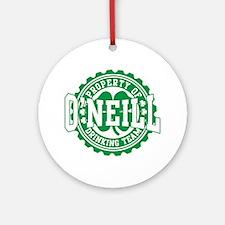 O'neill Irish Drinking Team Ornament (Round)