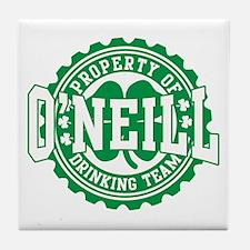 O'neill Irish Drinking Team Tile Coaster