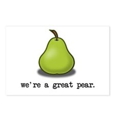 We're a great Pear. Postcards (Package of 8)